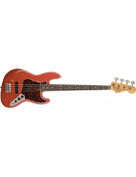 Road Worn® '60s Jazz Bass® Rosewood Fingerboard, Fiesta Red