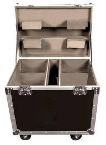 RoadCase per contenere 4 proiettori PRIME