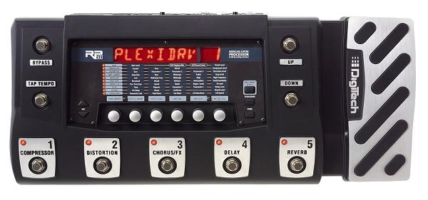 RP500 Processore Multi-FX da Palco per Chitarra con pedale di Espressione, USB, Cubase LE4 eAlimentatore