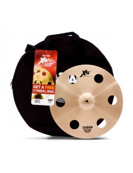 SABIAN PIATTO C/CUSTODIA XS20 XS1600P O-ZONE CRASH 16