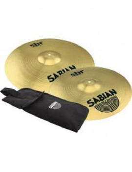 SABIAN SBR BUNDLE 16 E 18 CRASH VALUE con custodia