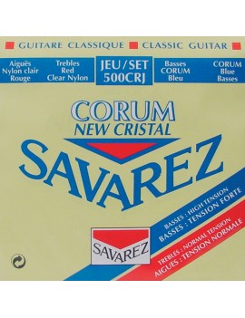 Savarez New Cristal Corum muta di corde per chitarra classica 500CRJ