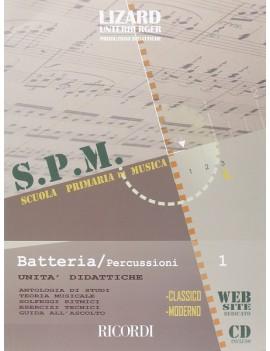 Scuola primaria di musica:Batteria/Percussioni volume 1