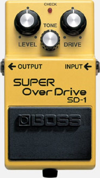 SD-1 OVERDRIVE VALVE SOUND
