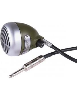 SHURE 520DX GREEN BULLET MICROFONO DINAMICO CARDIOIDE PER ARMONICA A BOCCA