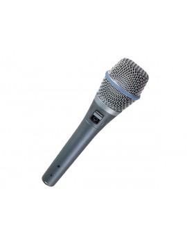 SHURE BETA 87A MICROFONO A CONDENSATORE SUPERCARDIOIDE PER VOCE