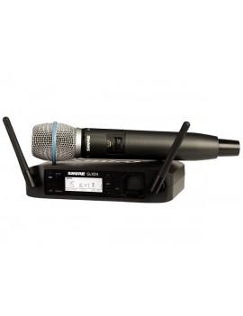 SHURE GLXD24E/Beta87 SISTEMA PALMARE DIGITALE WIRELESS PER VOCE