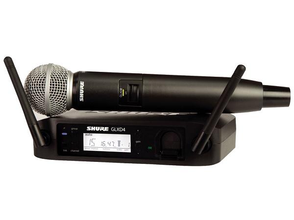 SHURE GLXD24E/SM58 SISTEMA PALMARE DIGITALE WIRELESS PER VOCE