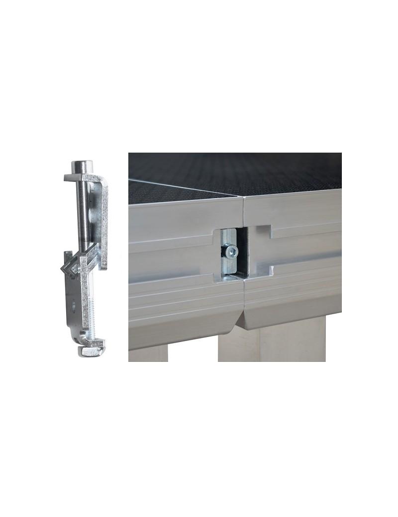 Side-clamp per piani di calpestio Roadstage e Litestage system