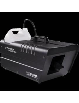 Simulatore effetto neve 1000W, DMX, comando manuale, consumo 0,3L/min, tanicaP