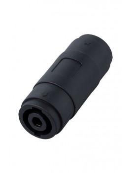 SK100/4P Connettore per estensione cavi per speaker 4 poli