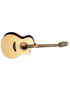 SM MAHO PLUS CHITARRA FOLK IN ABETE Con custodia rigida