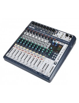 SOUNDCRAFT SIGNATURE 12MTK MIXER 12 INGRESSI, EFX, I/O USB 2 IN