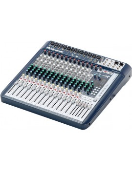 SOUNDCRAFT SIGNATURE 16 MIXER 16 INGRESSI, EFX, I/O USB 2 IN