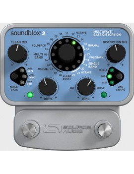 SOURCE AUDIO SA221 SOUNDBLOX 2 MULTIWAVE BASS DISTORSION