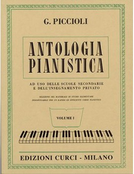 Antologia Pianistica - Giuseppe Piccioli Vol. 1