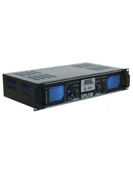SPL 1500MP3 Amplifier blue LED + EQ Black