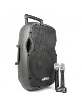 AP1200PA Portable Sound System ABS 12 2 VHF/BT