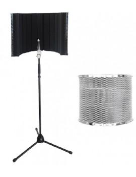AS10 Schermo professionale antiriflessioni per Microfono da Studio