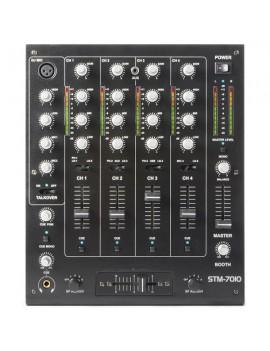 STM-7010 Mixer 4-CANALI DJ Mixer USB