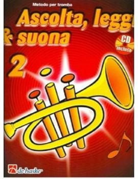 ASCOLTA LEGGI SUONA 2 TROMBA + CD Metodo per trombaDi Jaap Kastelein