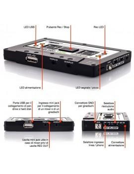 TAPE: La stessa facilità di registrazione delle vecchie music cassette