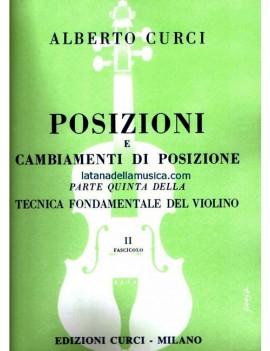 Tecnica Fondamentale del Violino Parte Quinta 1° Fascicolo