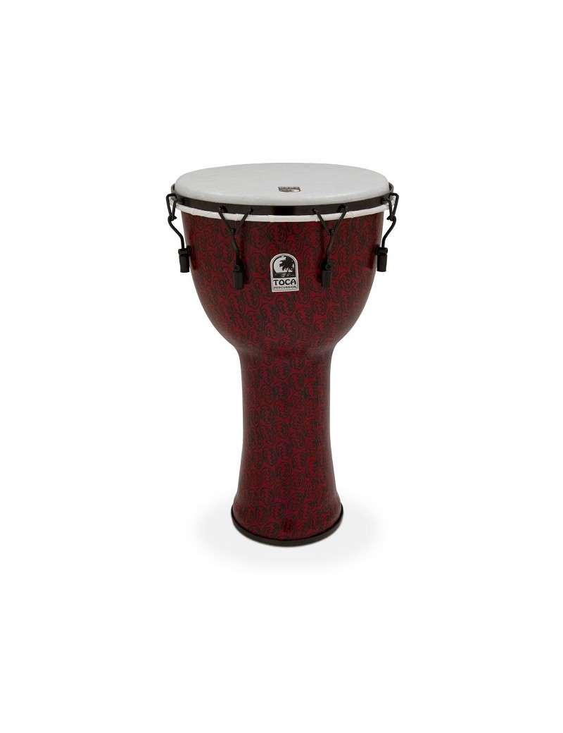 TOCA DJEMBE FREESTYLE II MECHANICALLY TUNED TF2DM-9RM Red Mask