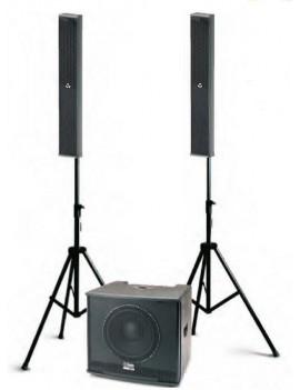 TRIO LA 6/10 Kit composto da SUB Stage Pro W10 + 2 satelliti STAGE LA 6