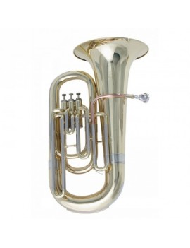 TUBA IN MIB GOLD A 3 PISTONI - STE-10G