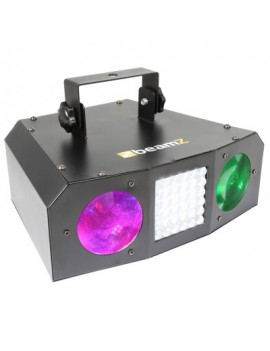 Uranus LED Double Moon 2x3W + Strobo