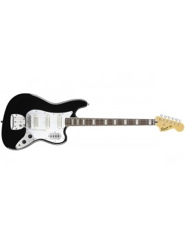 Vintage Modified Bass VI (6-String), Rosewood Fingerboard, Black