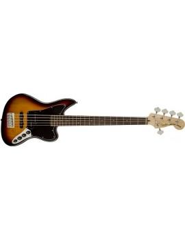 Vintage Modified Jaguar® Bass V Special (5-String), RW Fingerboard,3-Color Sunburst