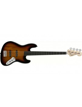 Vintage Modified Jazz Bass® Fretless, Ebonol Fingerboard, 3-ColorSunburst
