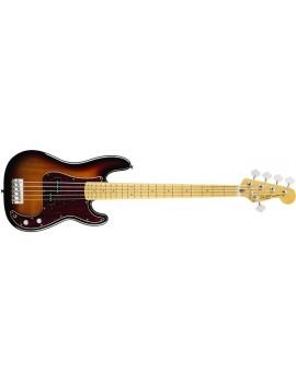 Vintage Modified Precision Bass® V (5-String), Maple Fingerboard,3-Color Sunburst