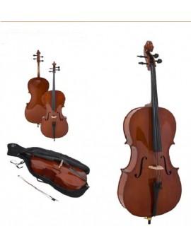 Vox Meister CEB44  violoncello Massello Fondo e fasce Linden 4/4