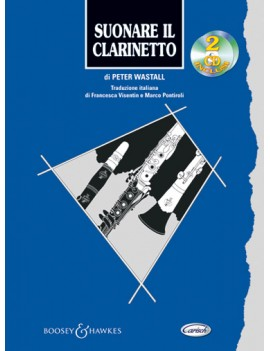 WASTALL P. SUONARE IL CLARINETTO + 2CD ML2671