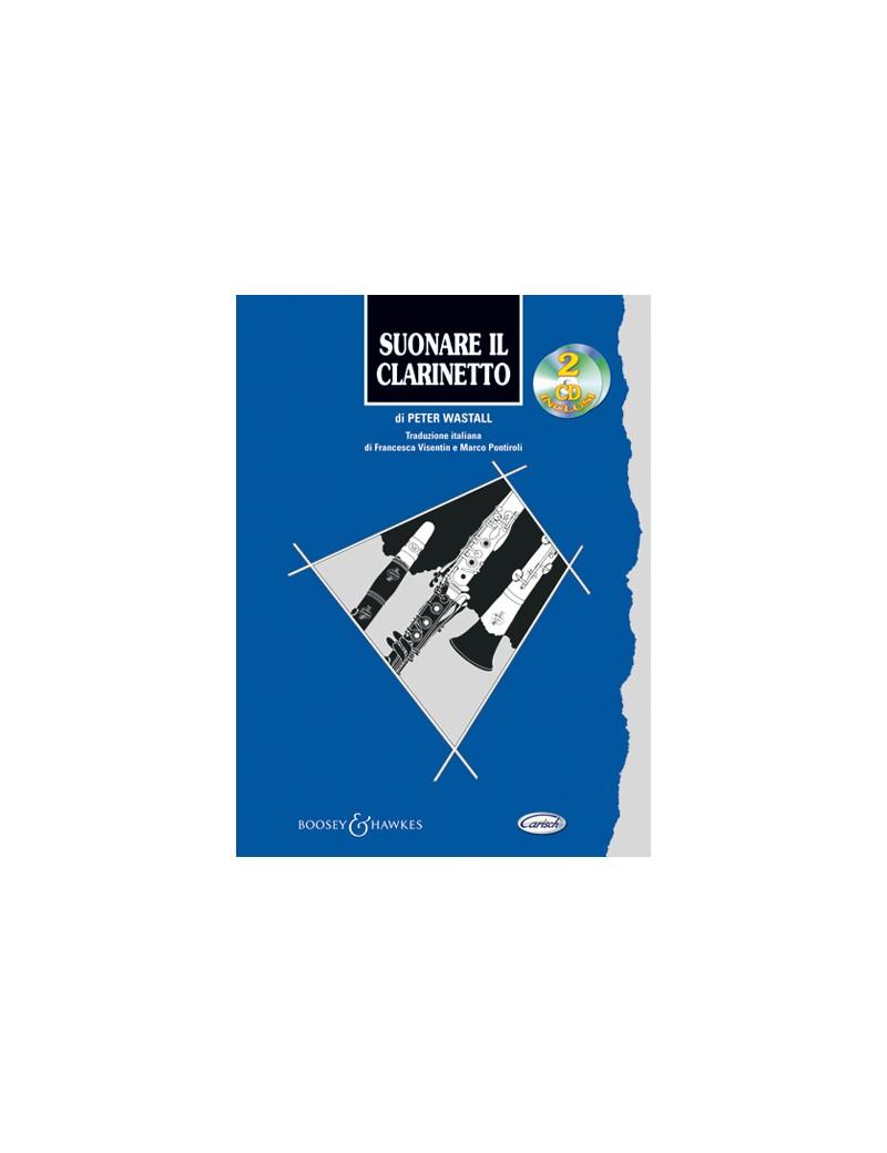 WASTALL P. SUONARE IL CLARINETTO + 2CD ML2671