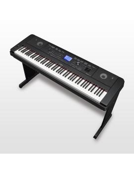 YAMAHA DGX660 BLACK Pianoforte digitale con ritrmi 88 tasti pesati
