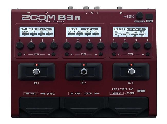 B3n - per basso - pedaliera multieffetto e amp-simulator