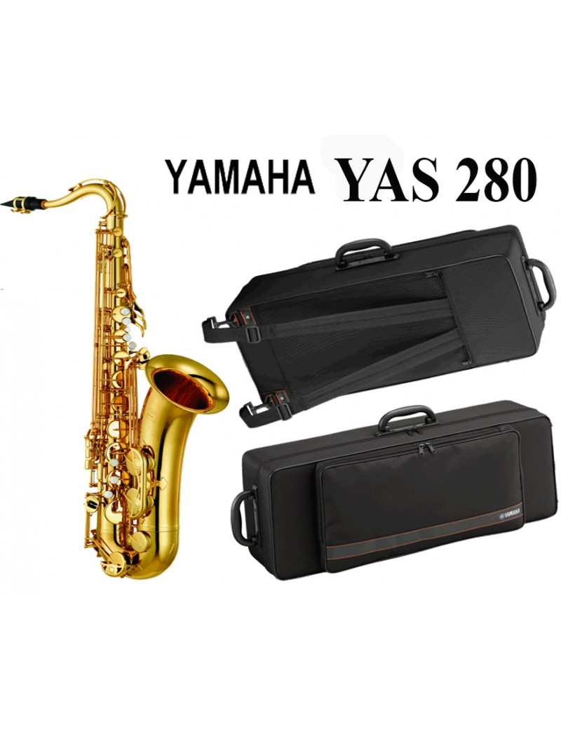 YAS 280 SAX ALTO IN MIB NEW LACCATO ORO CON CUSTODIA
