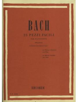 BACH J.S. 23 PEZZI FACILI (+CD)