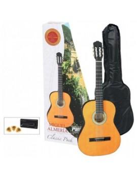 GEWApure Chitarra classica Almeria Classic Pack 4/4 Chitarra, natural