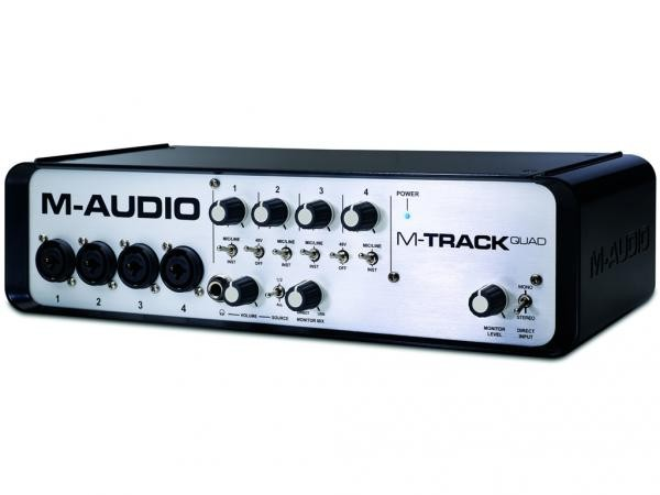 M-TRACK QUAD Interfaccia audio USB con qualita`