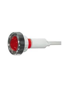 50062311 spia led rosso 230V 6mm diam