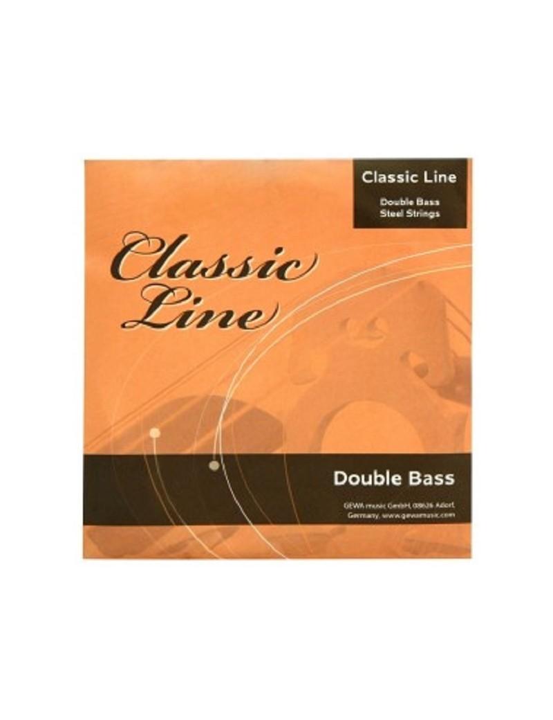 GEWApure Corde per contrabbasso Classic Line 1/2 Mi